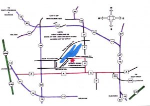 Scenic Ridge Map