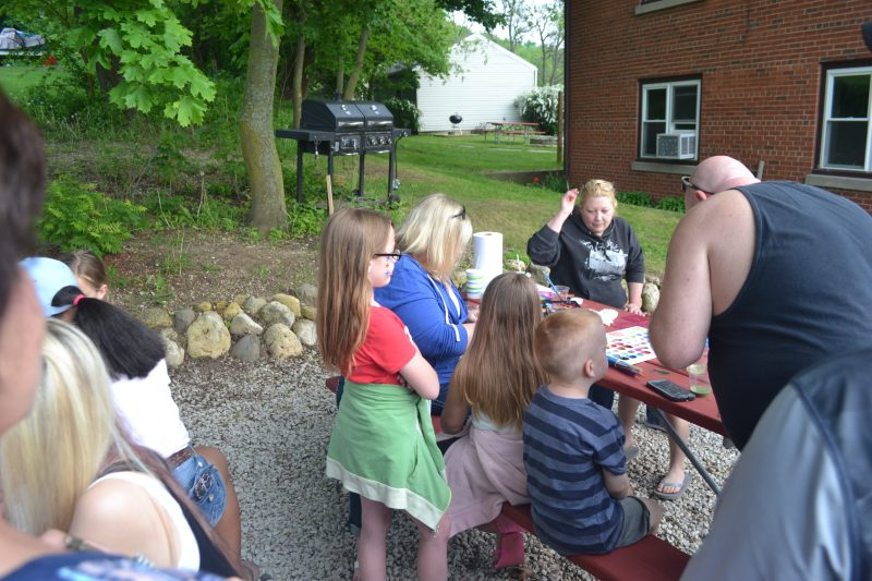 This is an image of face painting.